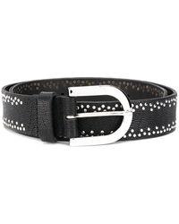 Orciani Studded Belt - Black