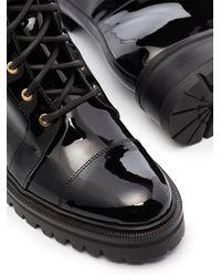 Balmain Лакированные Ботинки Romy 50 - Черный
