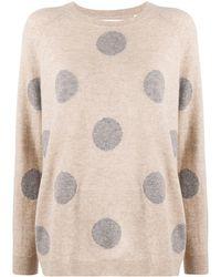 Chinti & Parker Polka-dot Sweater - Natural