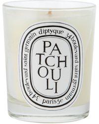 Diptyque Patchouli キャンドル - ホワイト