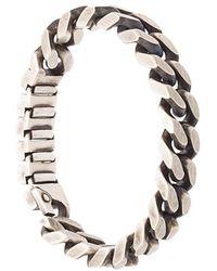 Werkstatt:münchen - 'Chain' Silberarmband - Lyst