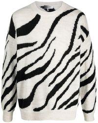 Isabel Marant - Zebra-print Jumper - Lyst