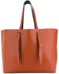 Valextra - Long Strap Tote - Lyst