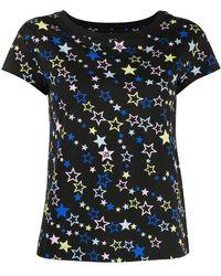 Love Moschino - Star Print Short-sleeve T-shirt - Lyst