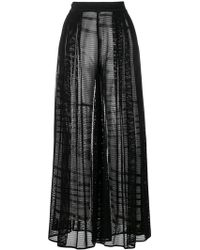 Missoni - Sheer Layered Trousers - Lyst