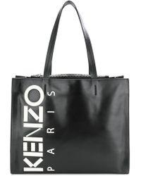 KENZO - Logo Print Tote - Lyst