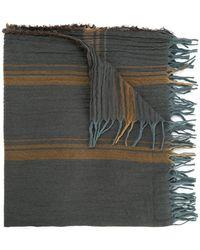 Uma Wang - Écharpe rayée et frangée - Lyst