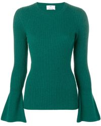 Allude - Long-sleeve Fitted Sweater - Lyst