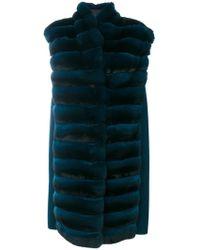 Manzoni 24 - Oversized Sleeveless Jacket - Lyst