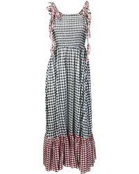 Liu Jo Checked Maxi Dress