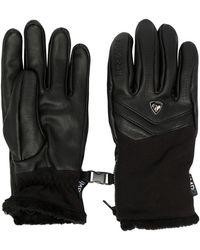 Rossignol Elite Leather Gloved - Black