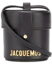 Jacquemus Le Vanity Mini Bag - Black