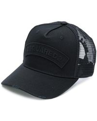 DSquared² - Logo Embroidered Cap - Lyst
