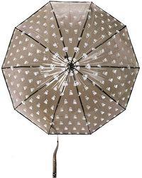 Marc By Marc Jacobs Boxer Print Umbrella - Black