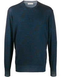 Etro Abstract Print Sweater - Blue