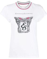 Ermanno Scervino - ロゴパッチ Tシャツ - Lyst