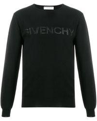 Givenchy Trui Met Logoprint - Zwart