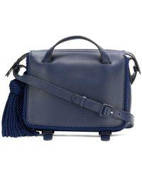 Marco De Vincenzo - Tassel Shoulder Bag - Lyst