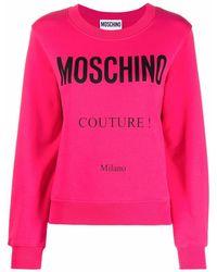 Moschino ロゴ プルオーバー - ピンク