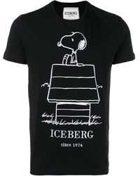 388b8c1c2 Gucci Snoopy And Woodstock-print Cotton T-shirt for Men - Lyst