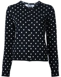 Play Comme des Garçons | Polka Dot Knitted Sweater | Lyst