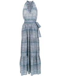 Amir Slama Long Denim Dress - Синий