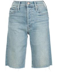 Mother The Tomcat Bermuda Shorts - Blue