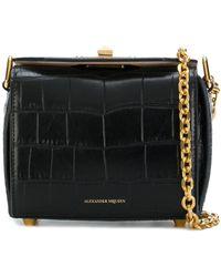 Alexander McQueen Сумка На Плечо 'box Bag 15' - Черный