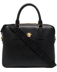 Versace Портфель С Декором Medusa - Черный