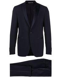 Canali Costume de smoking - Bleu