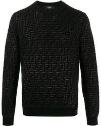Fendi Ffパターン プルオーバー - ブラック