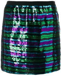 Marc Jacobs - Disco スパンコール ミニスカート - Lyst