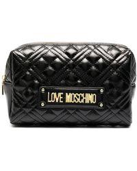 Love Moschino キルティング ミニバッグ - ブラック
