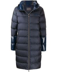 Duvetica Mid-length Puffer Coat - Blue