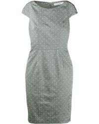 Dior - ポルカドット ドレス - Lyst