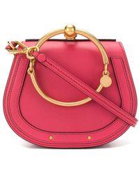 Chloé Mini 'Nile' Schultertasche - Pink