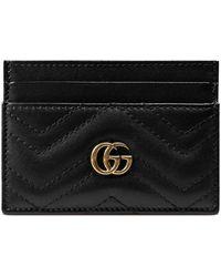 Gucci GG Marmont Pasjeshouder - Zwart