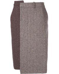 Monse - バイカラー スカート - Lyst