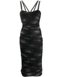 Philipp Plein Greta タイトドレス - ブラック