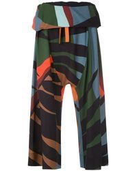 Osklen - Pantaloni Tropicolor con cavallo basso - Lyst
