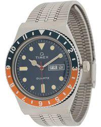 Timex Наручные Часы Q Diver - Металлик