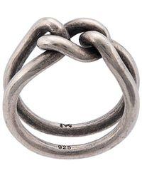 M. Cohen Curb Band Ring - Metallic