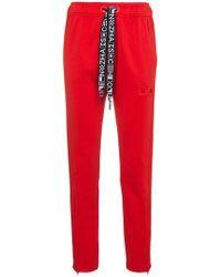 Proenza Schouler Pswl Camo Cargo Pant - Red