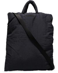 Our Legacy Pillow Padded Tote Bag - Black