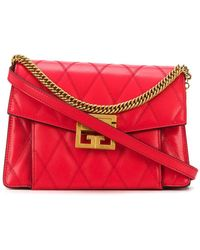Givenchy Kleine 'GV3' Handtasche - Rot