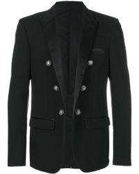 Balmain - Embellished Button Blazer - Lyst