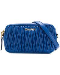 Miu Miu - Matelassé Crossbody Bag - Lyst