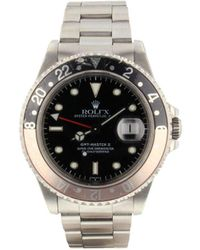 Rolex 1990 Pre-owned Gmt Master Ii 40mm - Black