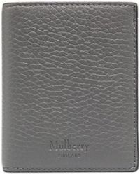 Mulberry Trifold Wallet - Grey