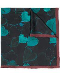 Lanvin ロゴ スカーフ - マルチカラー